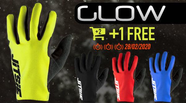 Promo Glow gloves 2+1 free